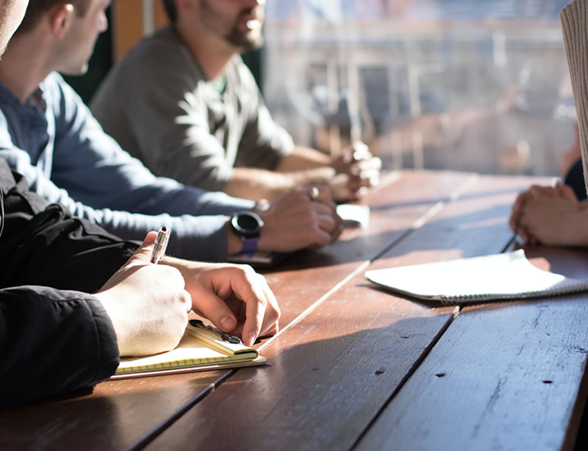 How to succeed in a group interview.